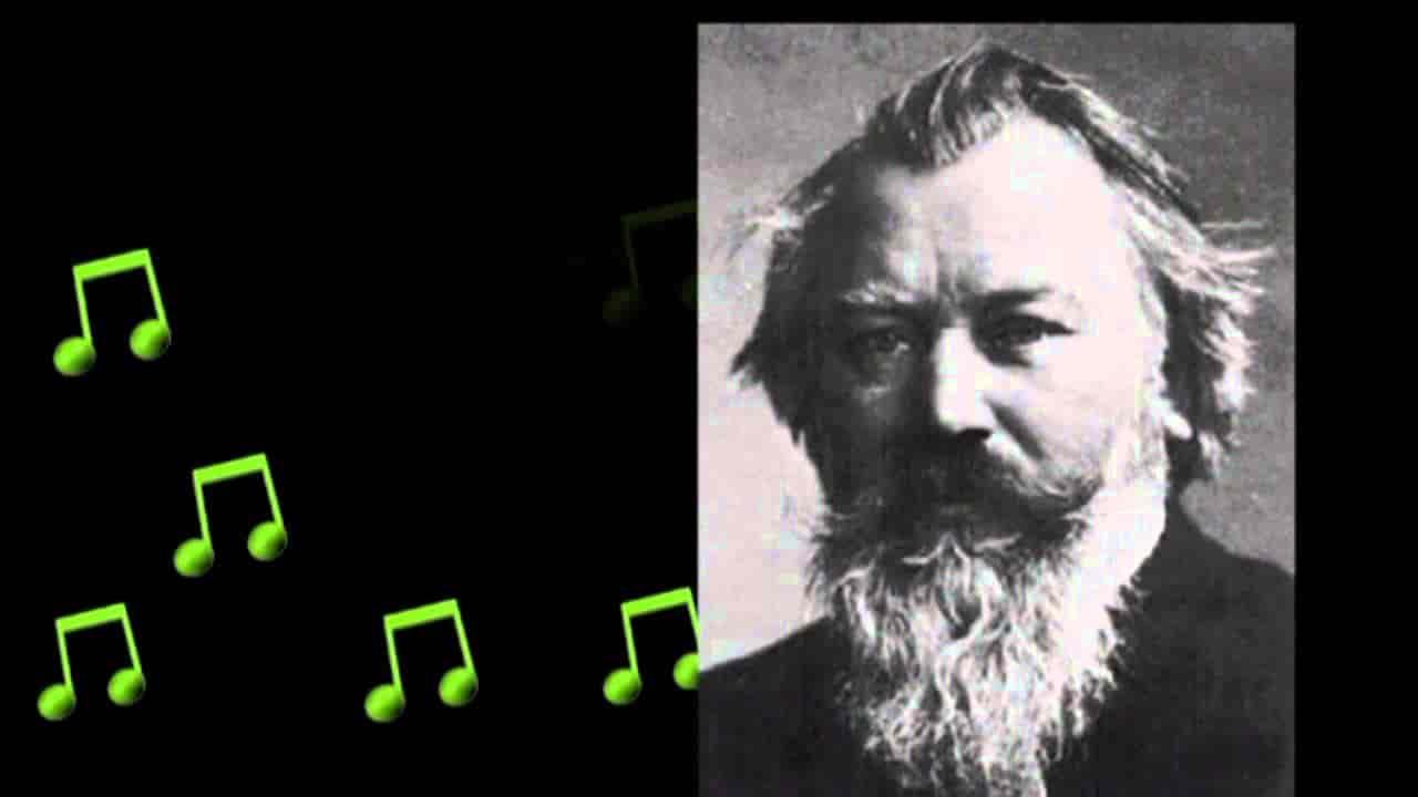 Johannes Brahms one
