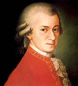 Wolfgang Amadeus Mozart one